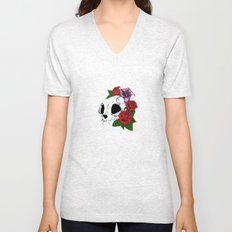 Kitty Skull Unisex V-Neck