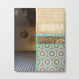 Fez, Morocco Metal Print