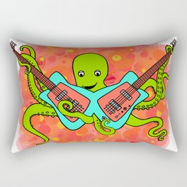 Flock of Gerrys Gerry Loves Tacos Octo's Music Explosion Rectangular Pillow