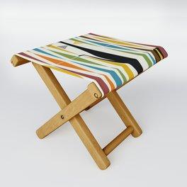 Mid-Century Modern Art Cat 2 Folding Stool