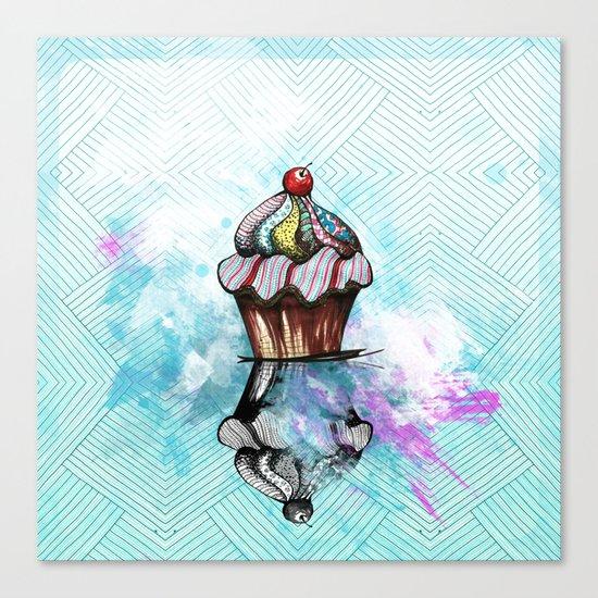 ColorCake Canvas Print