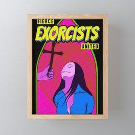 Fierce exorcists united Framed Mini Art Print
