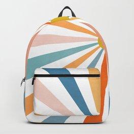 Sun Retro Art V Backpack