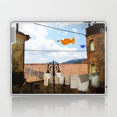 promenade with dreaming elements Laptop & iPad Skin