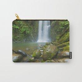III - Rainforest waterfalls, Beauchamp Falls, Great Otway NP, Victoria, Australia Carry-All Pouch