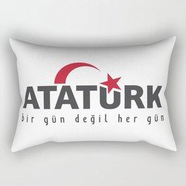 ataturk Rectangular Pillow
