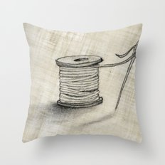 Sewing Time Throw Pillow