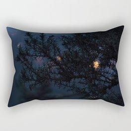 Bokeh thorns Rectangular Pillow