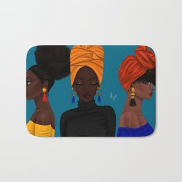 afrocentric Badematte