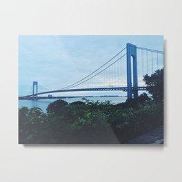 Verrazano Narrows x NYC  Metal Print