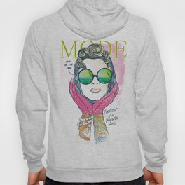 Hipster lady Hoody