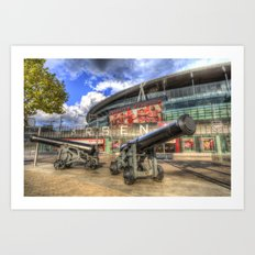 Arsenal FC Emirates Stadium London Art Print