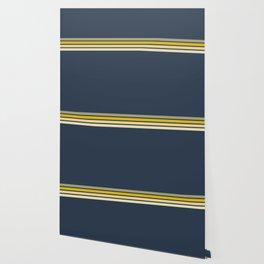 Racing Retro Stripes Wallpaper