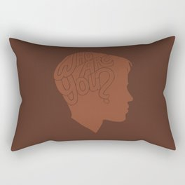 Who Are You? -Boys Don't Cry Rectangular Pillow