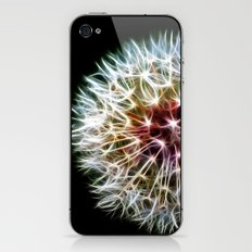 Fractal dandelion iPhone & iPod Skin