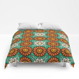Betty Flowers Comforters