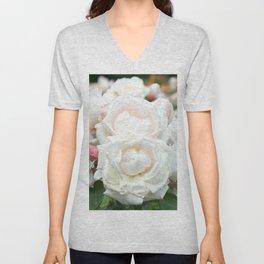 Field of Roses Unisex V-Neck