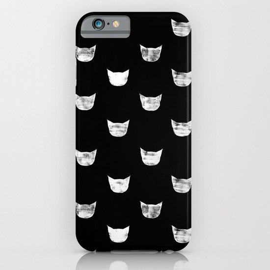 White Cat iPhone & iPod Case