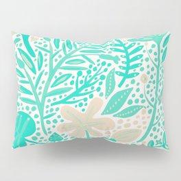 Garden – Mint & Cream Palette Pillow Sham