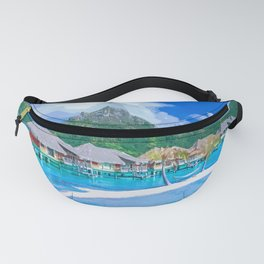 A Memorable Summer Vacation Fanny Pack
