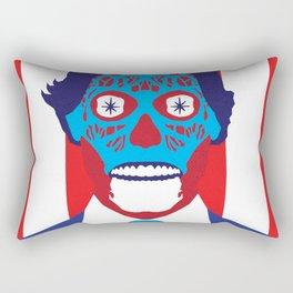 John Carpenter, Modern Master Series :: They Live Rectangular Pillow