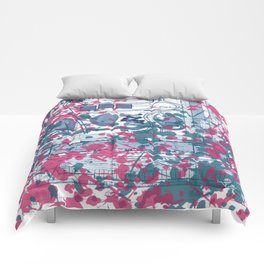 Abstract pattern 25 Comforters