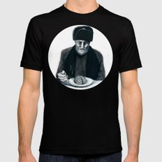 Recipe For Survival MEDIUM Mens Fitted Tee Black