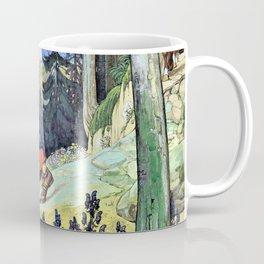 Walk of Mary across the mountains - Maximilian Liebenwein Coffee Mug