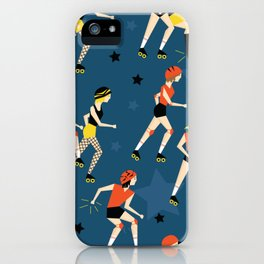 Roller Derby Girls iPhone Case