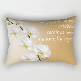 Love Yourself Celebrate Rectangular Pillow