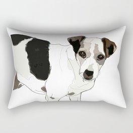 Jack Russell Terrier Dog Rectangular Pillow