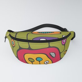 Broadcast in Full Color Fanny Pack