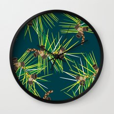 Perennial Needles Wall Clock