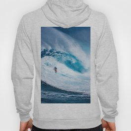Wave and Surfer Hoody