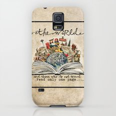 The World Is A Book Slim Case Galaxy S5