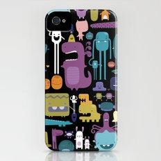 MONSTERS Slim Case iPhone (4, 4s)
