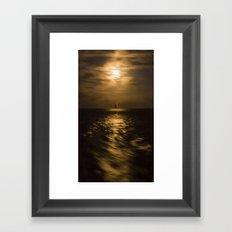 I'll Sail Away Framed Art Print