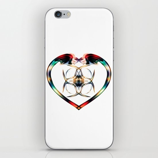 Smoke HeART 3 iPhone & iPod Skin