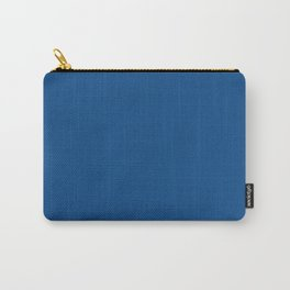 Pug Ride ~ Dodger Blue Coordinating Solid Carry-All Pouch