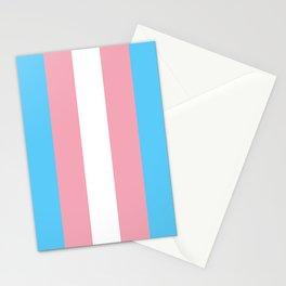 Transgender Pride Flag Stationery Cards