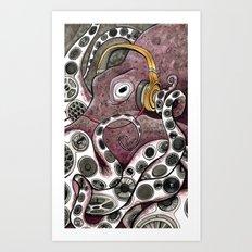 HipHoptopus Art Print
