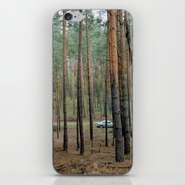 Forest & Car iPhone Skin