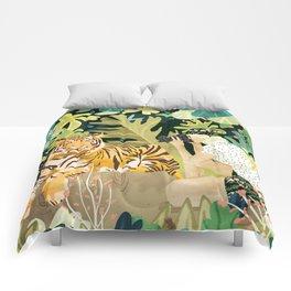 Tiger Sighting Comforters