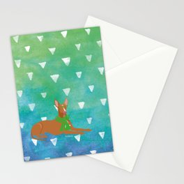 Pharaoh Hound Watercolour Stationery Cards