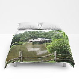 Picturesque Marby Mill Comforters