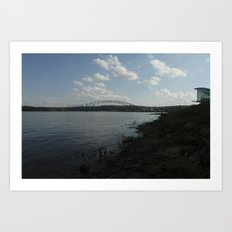 river dubuque Art Print