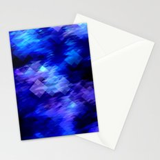 Anemone Wave Pixel Stationery Cards
