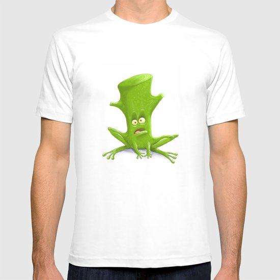 Log in a Frog T-shirt