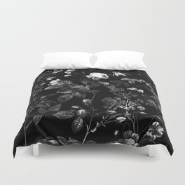 DARK FLOWER Duvet Cover