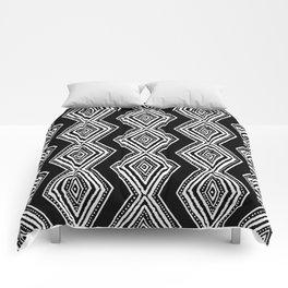 diamondback in black & white Comforters